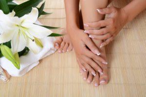 Fußpflege und Maniküre